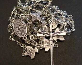Clear Holy Spirit Catholic Rosary