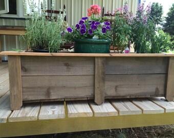 Low Boy Cedar Flower box