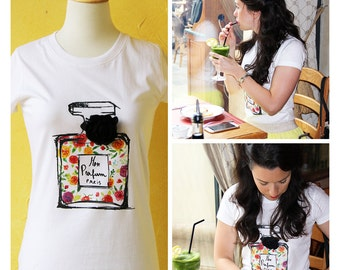 Chanel 5 inspired Tshirt