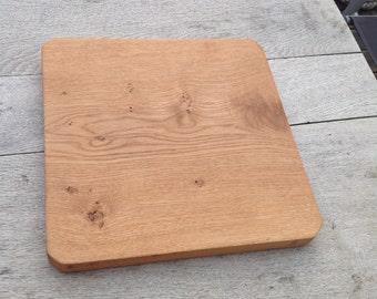Oak cutting board, cheese board, serving platter