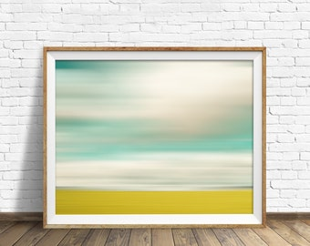 "landscape, landscape print, abstract, abstract art, pastels, large art, large wall art, instant download printable art - ""Landscape No. 1"""