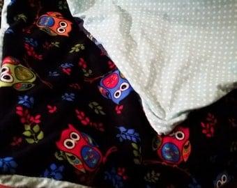 Children's throw blankets