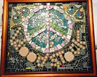 Woodstock Mosaic Peace