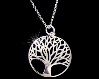 925 silver Tree of Life
