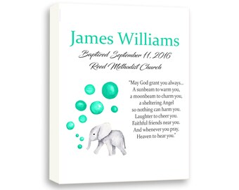 Baptism Gift Godson, Custom Christening Art, Personalized Baptism Gift For Naming Day Ceremony