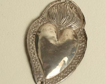 Italian ex-voto. Sacred heart