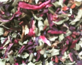 Refreshing Hibiscus Mint Tea