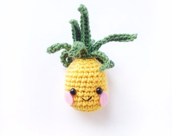 Crochet punky pineapple