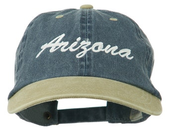Arizona Embroidered Washed Cap