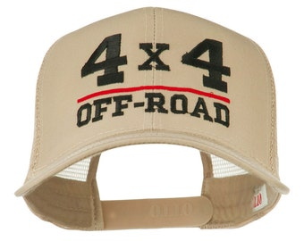 4 x 4 Off Road Embroidered Mesh Back Cap