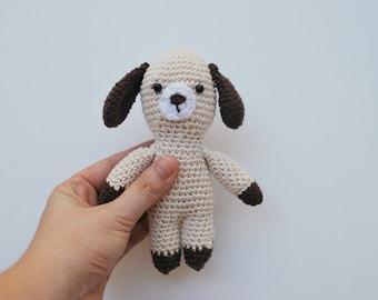 Amigurumi puppy