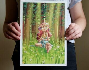Springtime - A4 Print