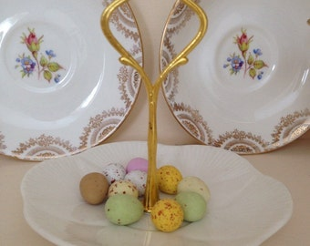 Darling Dainty Vintage Shelley Small Cake Stand