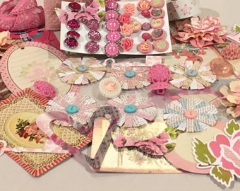 Pretty in Pink embellishments