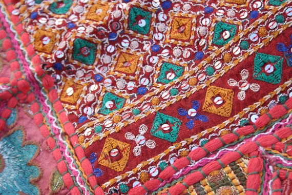 Mandala patchwork wandbehang runde tischdecke von - Wandbehang patchwork ...