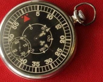Soviet watch.3602.Open Face.Vintage watch.Mechanical watch.Pocket Watch.Collectible.Shturmanskie.