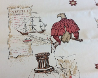 Stranger Things Wallpaper, Vintage 60s Nautical Wallpaper - Country Store -  Stranger Things