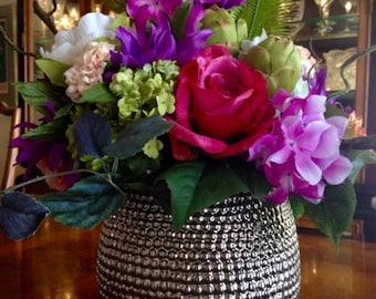 Floral Explosion Table Decor