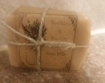 Goat milk soap!
