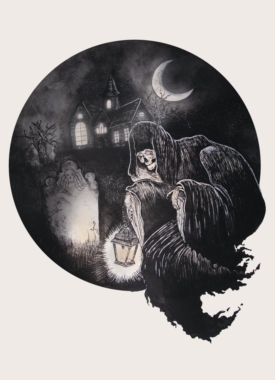 Grim Ghoul PRINT
