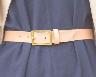 Belt, Women Belt, Brown Belt, Fashion Belt, Skinny Belt, Belt Leather