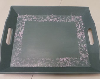 Upcycled tea tray