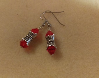 No. 1022 Swarovski Bi cone Earrings