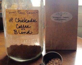 Julie's Chickadee Blend Coffee Alternative – chicory/dandelion/cinnamon/Cacao/tea/coffee alternative/
