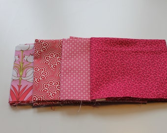 Fat quarter bundle fabric package pink No.. 2