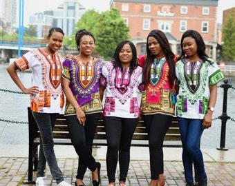 Dashiki top, ankara top, print top, african print, top, blouse, tunic, dashiki, dashiki dress