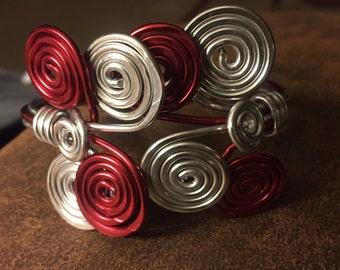Aluminum Wire Wrap BrCelet