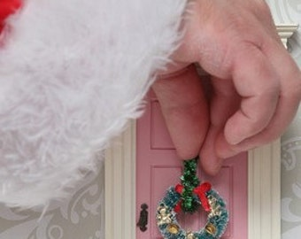 Little elf door - fairy door ideal for elves and fairies to make a magical red portal to the fairy world!