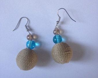 Tri Bead Alternative Earrings