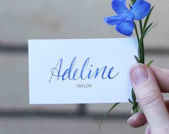Reception Place Cards // Circle of Love