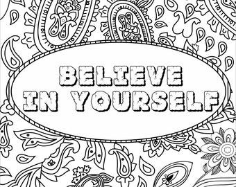 inspirational christmas coloring pages - photo#32