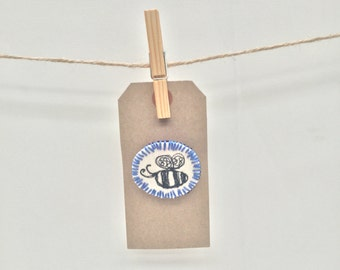 Handmade Embroidery Brooch