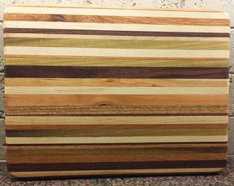 Stripped cutting board