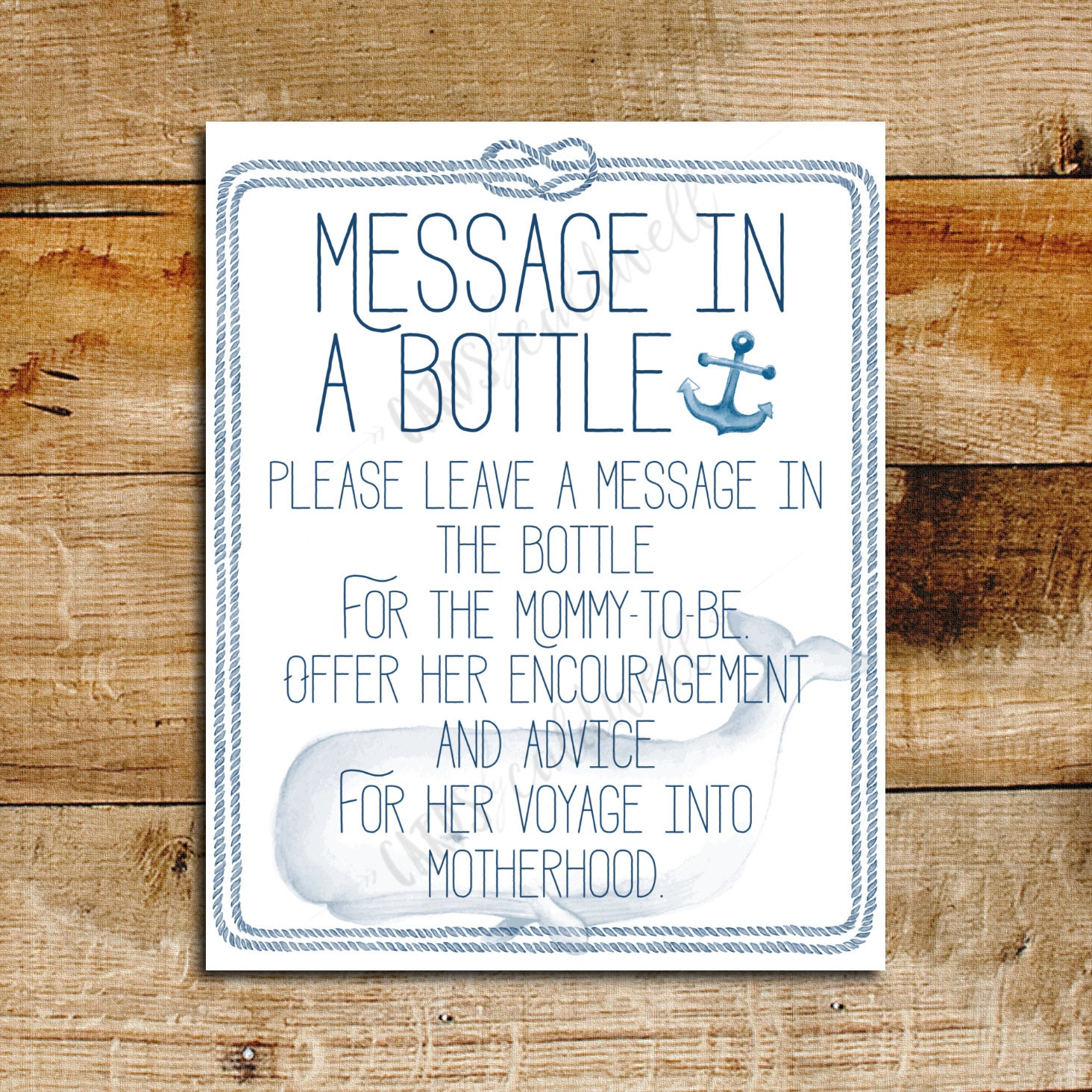 Custom writing signs in printable wedding