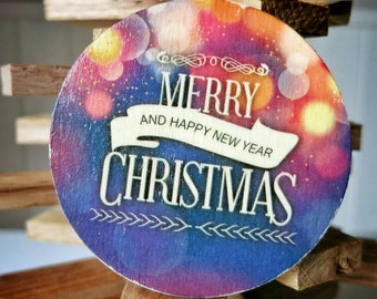 Christmas Magnets. Gift idea for Christmas. Set of 5 magnets