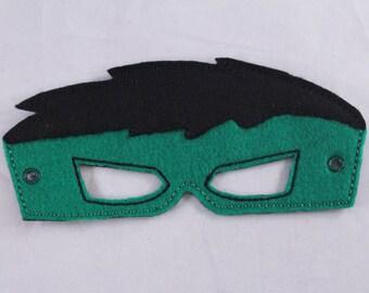 Hulk Inspired Embroidered Mask
