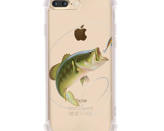 iPhone 6/6s and iPhone 7 Shock Absorption Case, fishing Design
