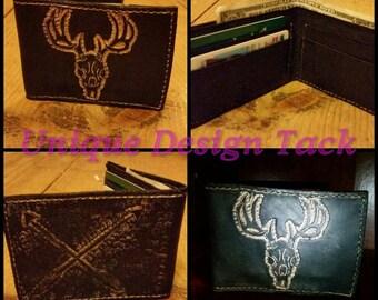 Custom wallet. Tri-fold or bi-fold.