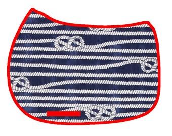 Nautical Ropes Saddle Pad