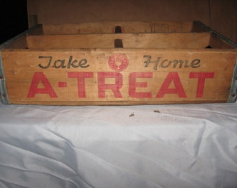 A Treat Wooden Crate