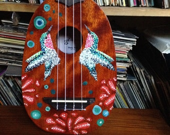 Hand painted new ukulele