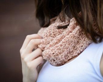 Pink knit shawl , Pale Pink Shawl,  Handemade Shawl , Elegant female shiny shawl,    Losse knit shawl, Women shiny pink shawl, Ready to ship