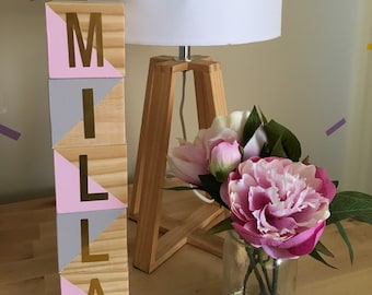 Wooden Blocks Personalised
