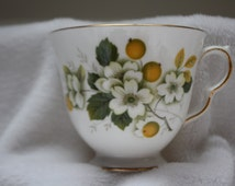Queen Anne Bone China Floral Teacup