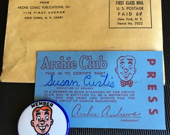 Archie Club membership kit