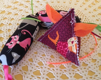 Organic Catnip Kick Toy and Mouse
